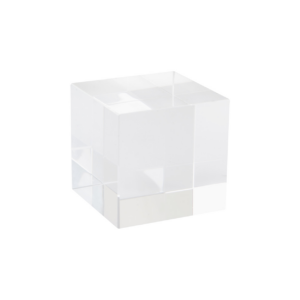 Tampa üveg kocka