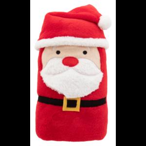 Hugger karácsonyi polár takaró, mikulásos