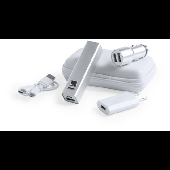 Tilmix USB töltő és power bank szett