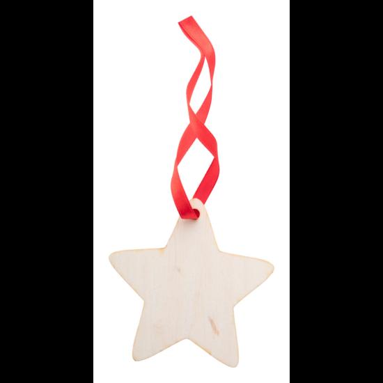 WoXmas karácsonyfa dísz, csillag