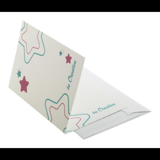 Meddelande egyediesíthető képeslap