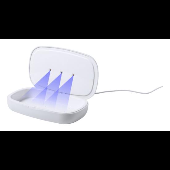 Halby UV fertőtlenítő doboz töltővel