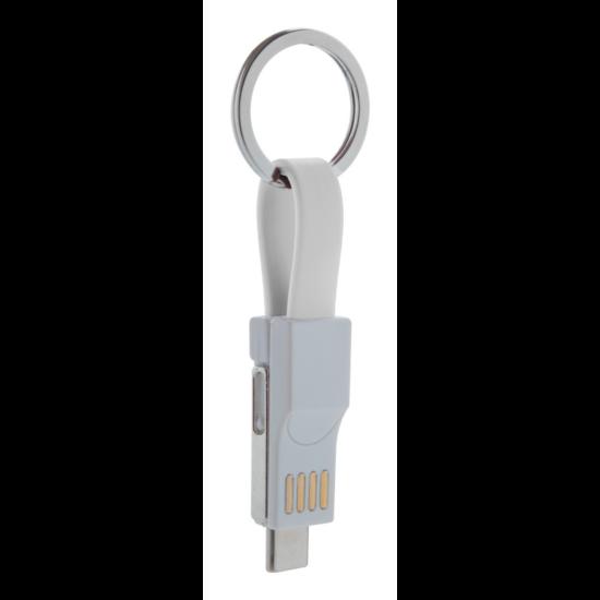 Hedul USB töltős kulcstartó
