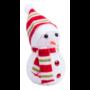 Kép 1/3 - Fadon hóember figura