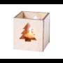 Kép 4/4 - Keylax karácsonyi gyertya, fenyőfa