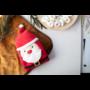 Kép 4/4 - Hugger karácsonyi polár takaró, mikulásos