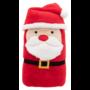 Kép 1/4 - Hugger karácsonyi polár takaró, mikulásos