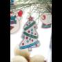 Kép 7/8 - Andoya kiszínezhető karácsonyfa dísz