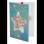 Kép 7/11 - TreeCard karácsonyi üdvözlőlap, csillag