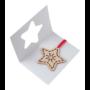 Kép 10/11 - TreeCard karácsonyi üdvözlőlap, csillag