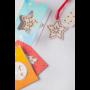 Kép 11/11 - TreeCard karácsonyi üdvözlőlap, csillag