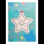 Kép 1/11 - TreeCard karácsonyi üdvözlőlap, csillag