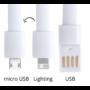Kép 3/3 - Leriam USB töltős karkötő