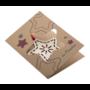 Kép 1/7 - TreeCard Eco üdvözlőlap, csillag