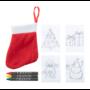 Kép 3/3 - Princox karácsonyi színező szett