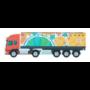 Kép 2/4 - Trucker 15 kamion formájú vonalzó, 15 cm