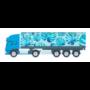 Kép 1/4 - Trucker 15 kamion formájú vonalzó, 15 cm